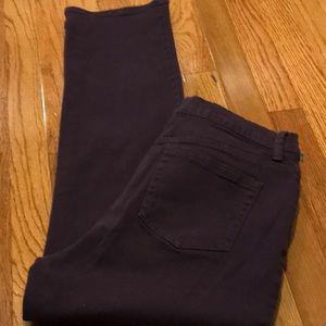 💜 Gloria Vanderbilt~~Purple Jeans 💜